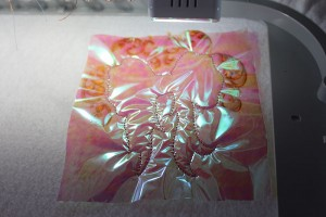 how to do mylar embroidery