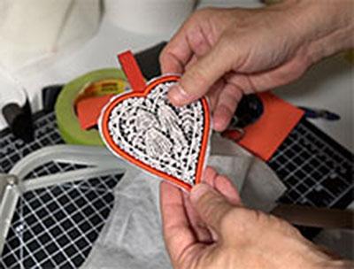 foam embroidery design