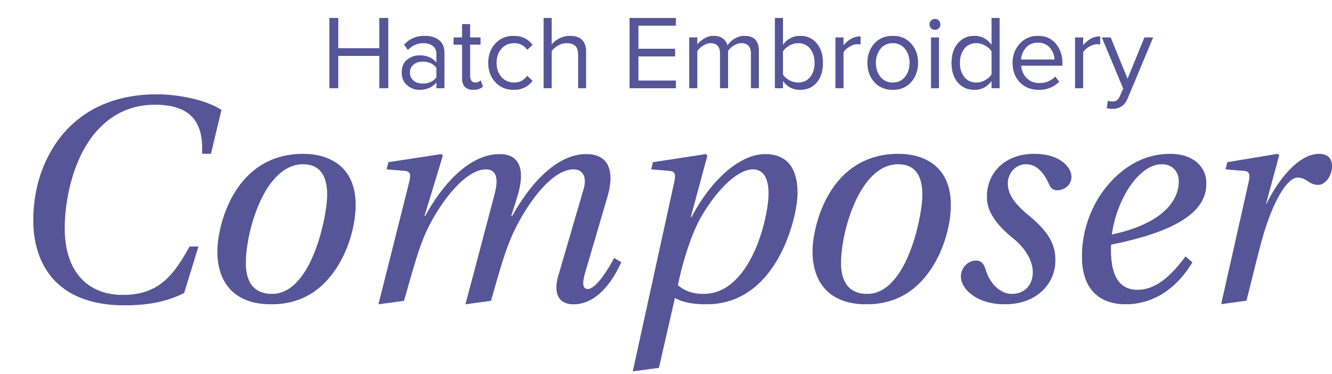 hatch embroidery composer