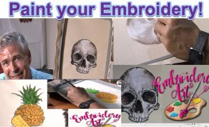 painting embroidery designs
