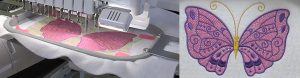 mylar stitching