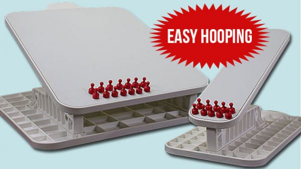 Embroidery Hooping Station