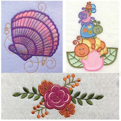 Applique Machine Embroidery Designs