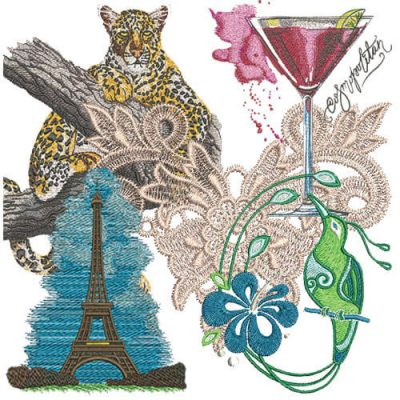 Detailed Machine Embroidery Designs