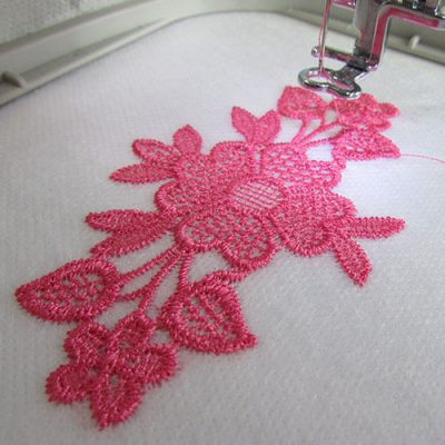Free Lace Embroidery Design