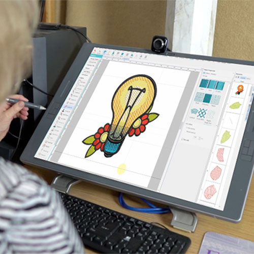 How to create embroidery designs