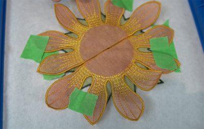 In the hoop flower tutorial picture 12