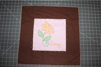 Center Embroidery On Fabric