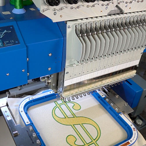 How to make money with an embroidery business