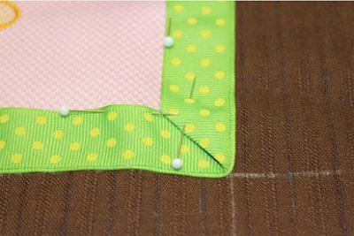 Folding Fabric Corners