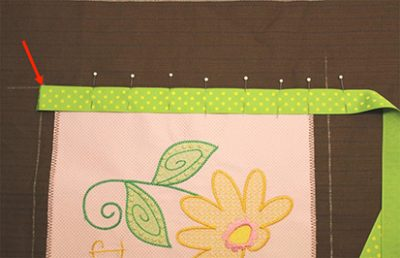 Joining Embroidery Trim