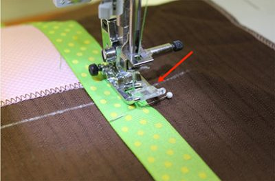 Raising Pressure Foot Embroidery