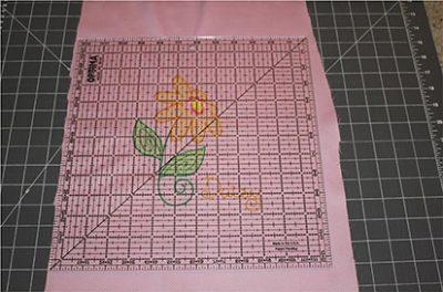 Square Center Fabric