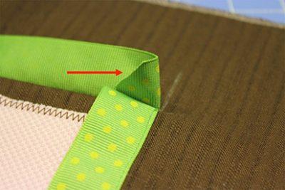 Underside Ribbon Angle