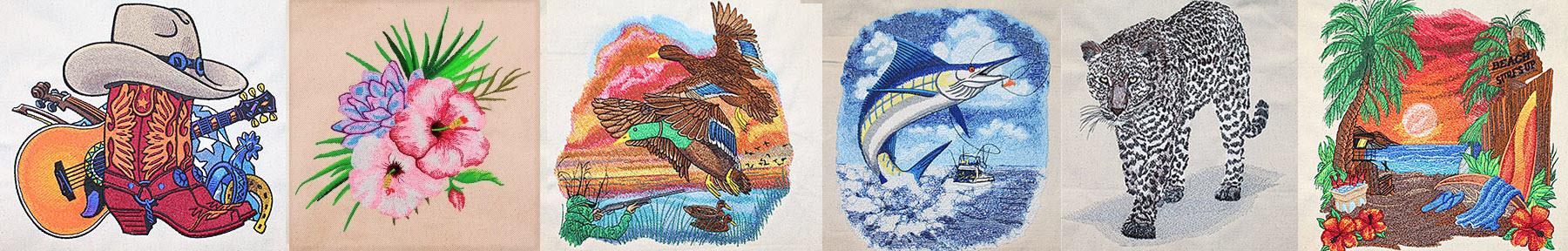 Premium Embroidery Designs Banner