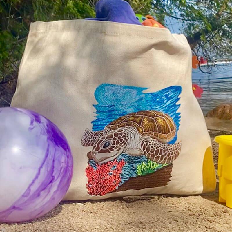 Sea Turtle Premium Embroidery Design