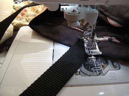 stitching handles diy easy halloween trick or treat bag