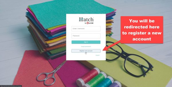 Hatch official reseller page example