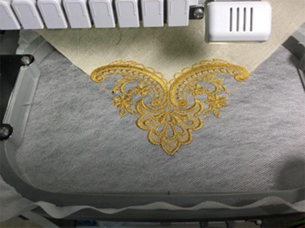 run lace cutwork