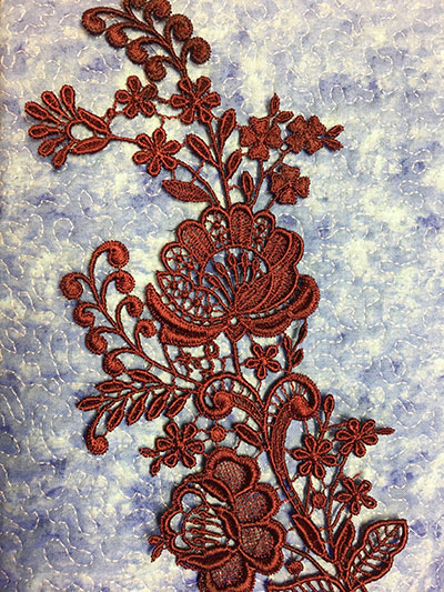 ASPM051 Lace sew out
