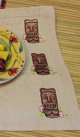 aloha hawaii placemat