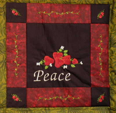 fruit of the spirit quilt block
