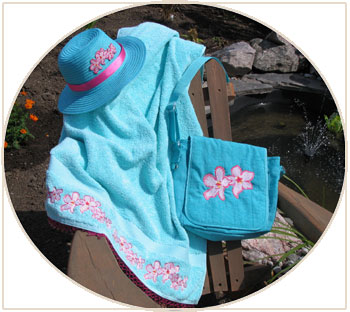 heavenly hibiscus beach set