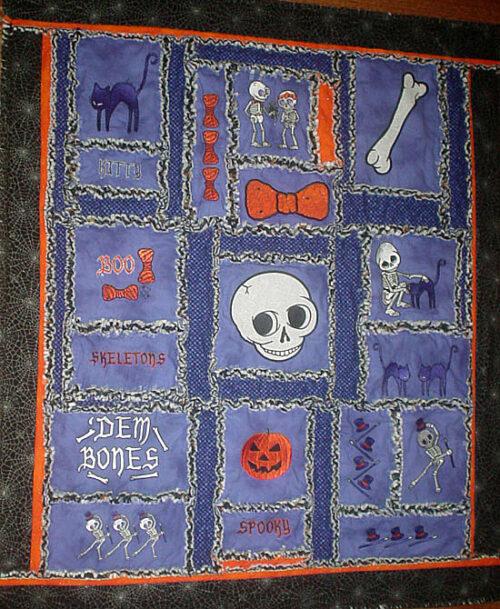 spooktacular quilt