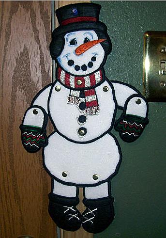 swing n sway snowman