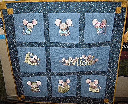mice capades quilt