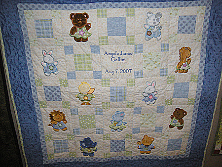 baby cuddle quilt