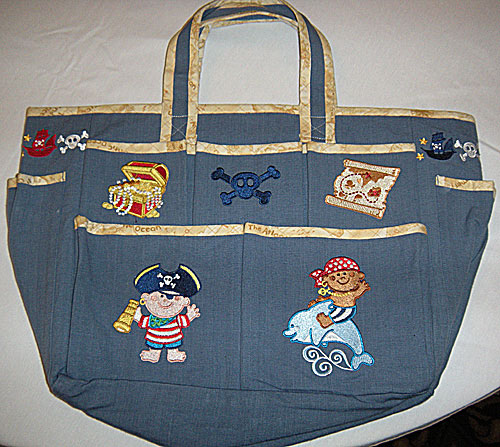 pirate kids bag