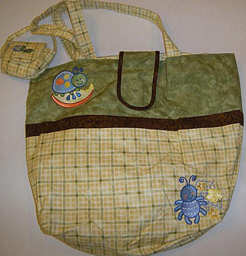 adorable bugs bag