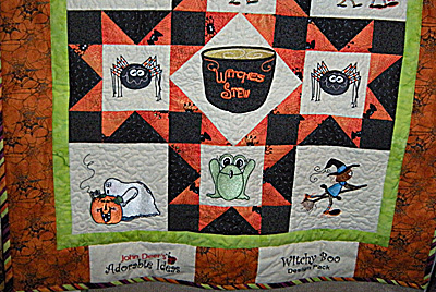 witchy boo quilt