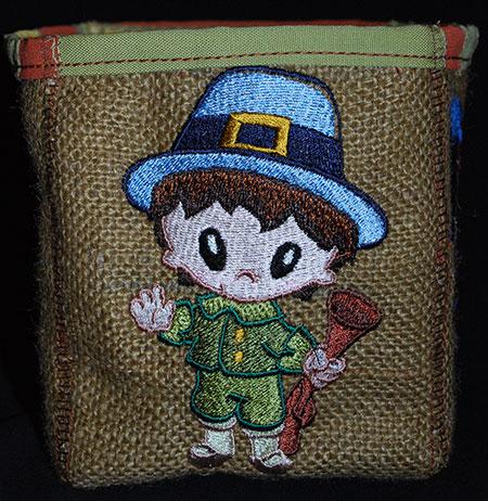 pilgrim thanksgiving boy