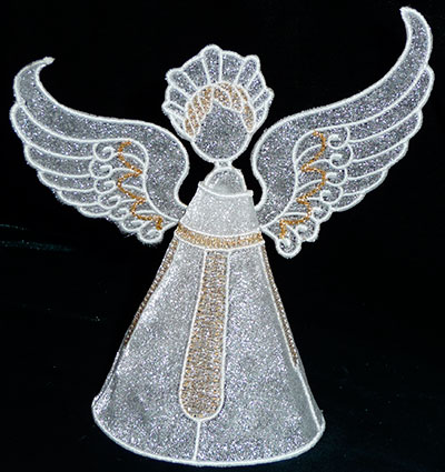 angel 3 sew out