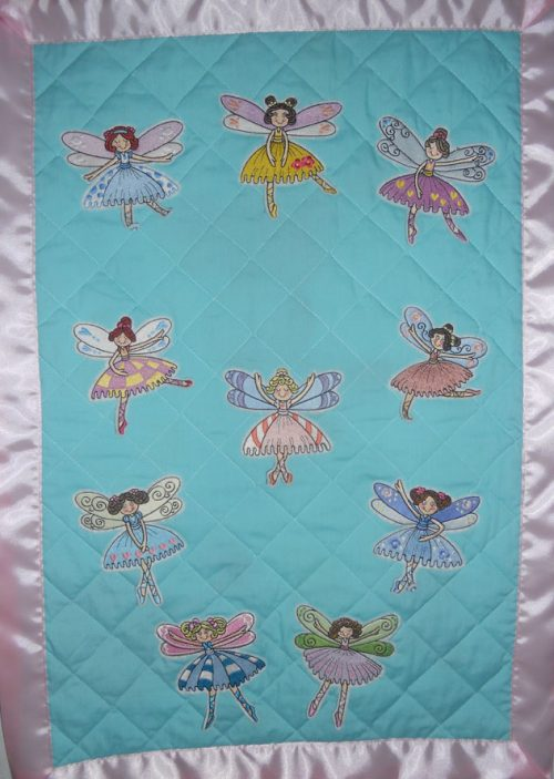 dancing fairies blanket