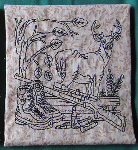 deer hunter block
