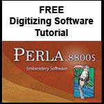 Perla digitizing software