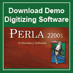 Perla Demo Digitizing Software