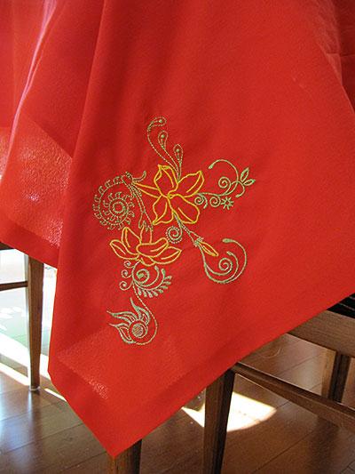 sweet jasmine table cloth