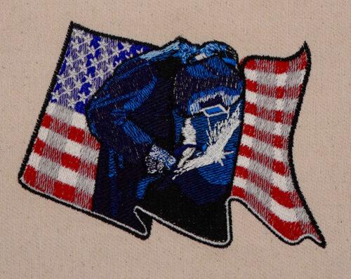 american welder embroidery design