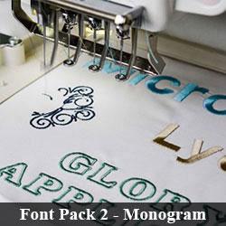 Font Pack 2 - Monogram