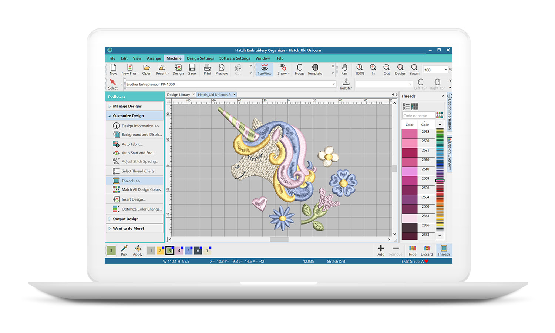 Hatch Embroidery Organizer Software