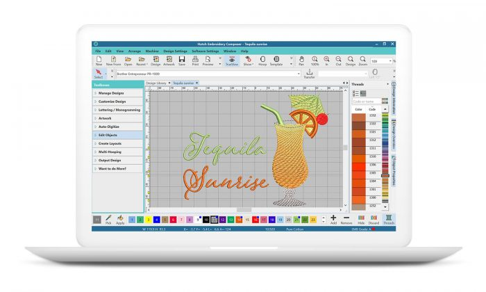 Hatch Embroidery Composer Software