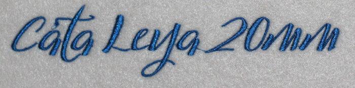 Cata Leya 20mm Font