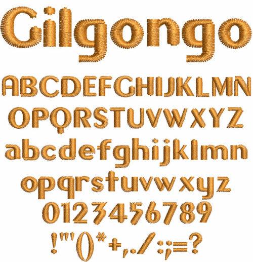Gilgongo 10mm Font