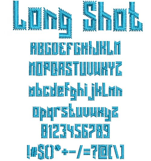 Long Shot Font