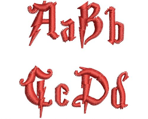 Magic School 25mm Font
