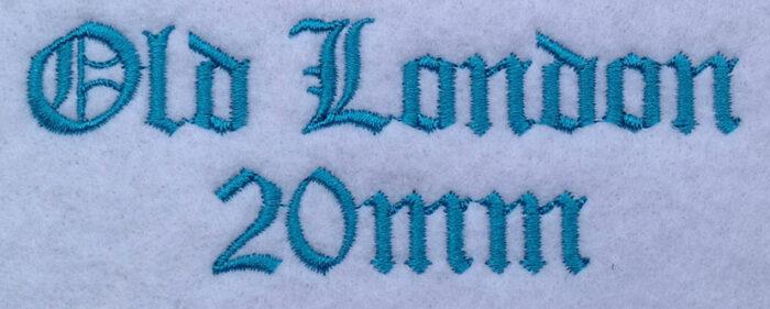 Old London 20mm Font